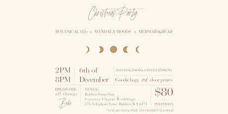 Botanical H2o, Mandala Moods & Mermaid and Bear - Christmas Party tickets