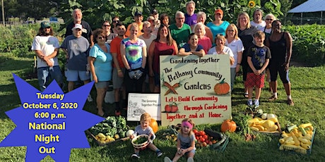 National Night Out  at Bethany Community Gardens with INDOT I-69/I-465 Team tickets