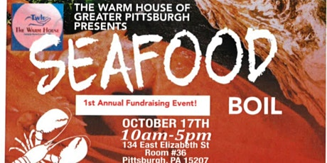 The Warm House of Greater Pittsburgh Seafood Boil Fundraiser tickets