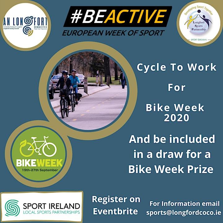 Bike Week - Cycle To Work image