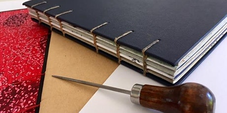 Make Your Own Sketchbook - Bookbinding tickets