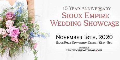 Sioux Empire Wedding Showcase | November 15th, 2020 tickets