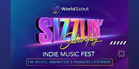 WorldScout's Sizzlin' Saturday Indie Music Fest tickets