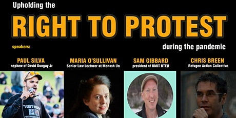 Upholding the Right to Protest during the Pandemic tickets