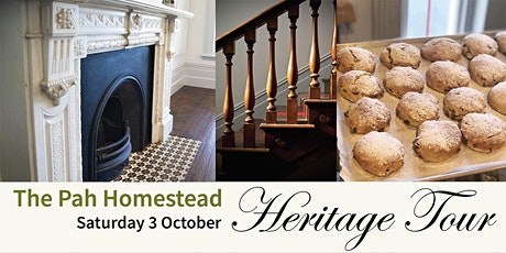 The Pah Homestead Heritage Tour and morning tea – Tour One tickets