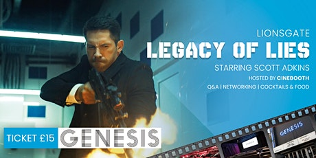 "Legacy of Lies - Presented by Cinebooth at ""Genesis Cinema"" tickets"