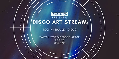 9.27 Disco ART Stream: Techy I House I Disco tickets