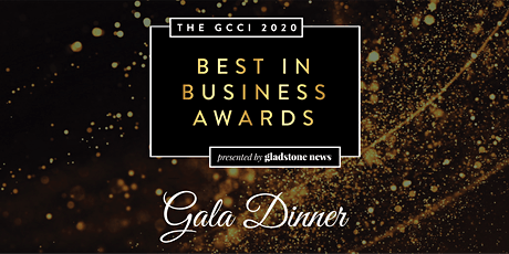 The GCCI 2020 Best in Business Awards Gala Dinner tickets