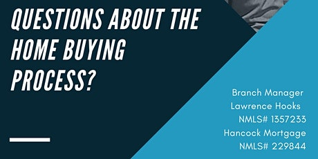 Home buying seminar with Branch Manger/Vice president Lawrence Hooks tickets