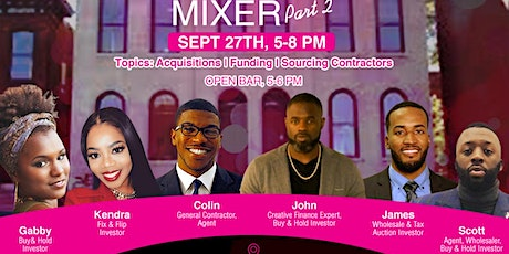 The Black Real Estate Mixer - part 2 tickets