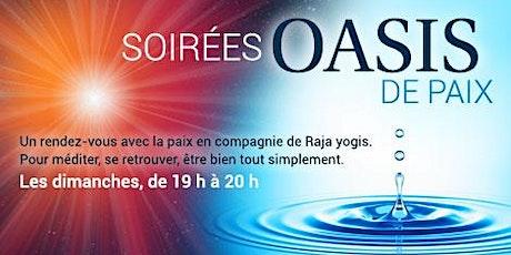 Soirée Oasis de paix billets