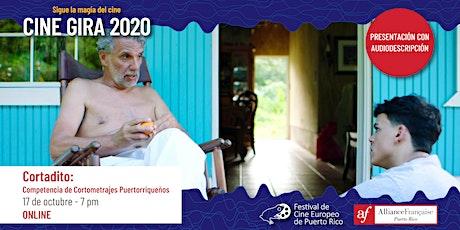 Cine Gira 2020: Cortadito  con Audiodescripción tickets