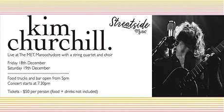 Kim Churchill with string quartet, choir and food trucks under the stars tickets