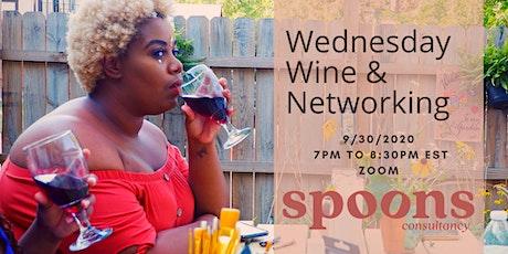 Wednesday Wine & Networking Night tickets