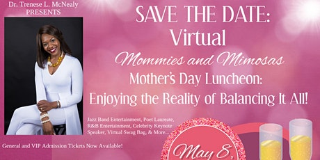 Virtual 2021 Mommies and Mimosas Mother's Day Luncheon tickets
