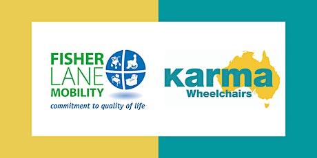 An Introduction to the Karma Flexx Wheelchair tickets