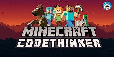 2020 Year-End Holidays: Minecraft EDU 4-Day Coding Camp Level 1 (Age 8+)