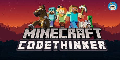 PSLE Marking Week 2020 Holiday: Minecraft CodeThinker 4-Day Online Camp tickets