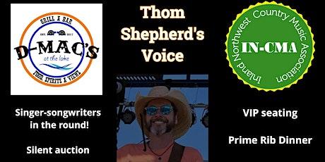 Thom Shepherd's Voice tickets