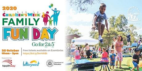Go for 2 & 5 Children's Week Family Fun Day tickets