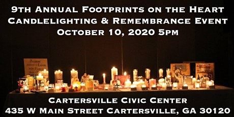 9th Annual Footprints on the Heart Candlelighting & Remembrance Event tickets