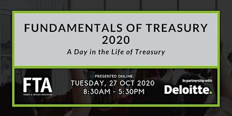 Online Fundamentals of Treasury Course 2020 tickets
