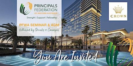 PFWA  Seminar & Annual General Meeting tickets