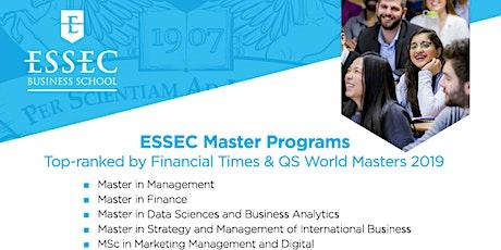 ESSEC Master Program Info Series tickets