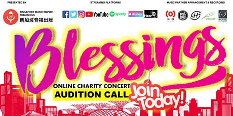 #SGMusicBlessings Online Charity Concert Series tickets