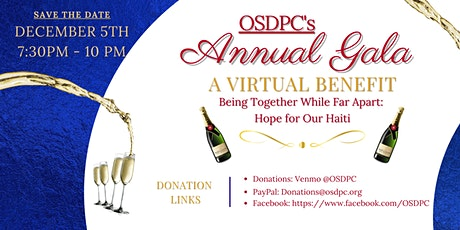 OSDPC's Annual Gala - A Virtual Benefit tickets