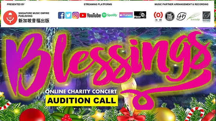 #SGMusicBlessings Virtual Concert Series image