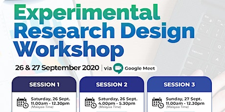 Experimental Research Design Workshop tickets