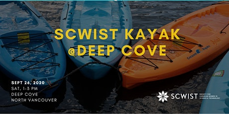SCWIST KAYAK SOCIALS: Deep Cove tickets