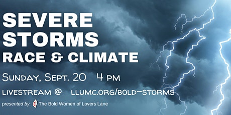 SEVERE STORMS Race & Climate tickets