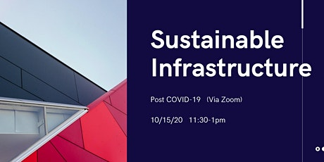 Sustainable Infrastructure Post COVID-19 tickets