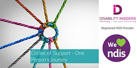 Disability Insiders' Circles of Support - One Person's Journey tickets