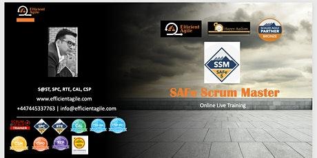 SAFe® 5 Scrum Master with SSM Certification Training tickets