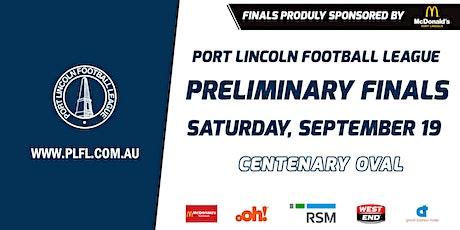 PLFL Preliminary Finals | Saturday, 19 September - Centenary Oval tickets