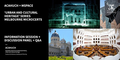 ACAHUCH Drop-In Session: Urban and Cultural Heritage MicroCerts tickets