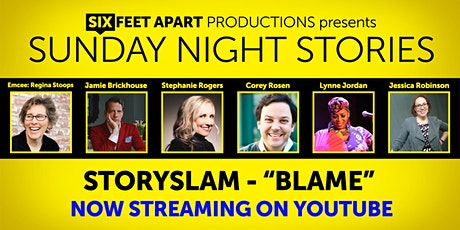 Sunday Night Stories StorySlam-Streaming tickets