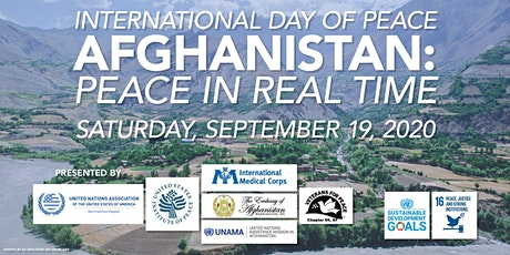 International Day of Peace | Afghanistan: Peace in Real Time tickets