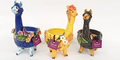 Animal Planters  Workshop tickets