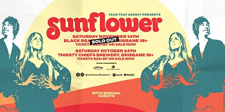 Sunflower - Live at Thirsty Chiefs Brewing Co 18+ tickets