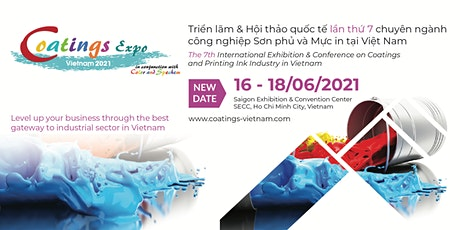 Coatings Expo Vietnam 2021 tickets