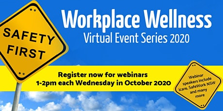 Workplace Wellness Virtual Event Series 2020 tickets