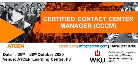 Certified Contact Center Manager tickets