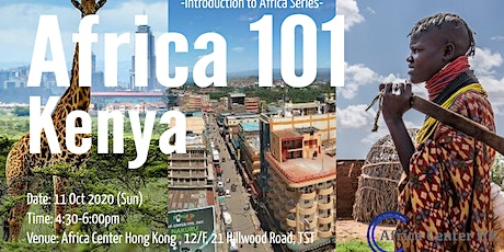 Africa 101 | Kenya tickets