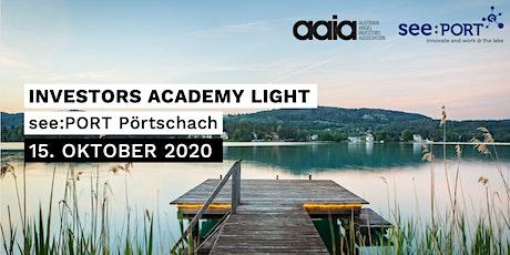 Investors Academy Light Tickets