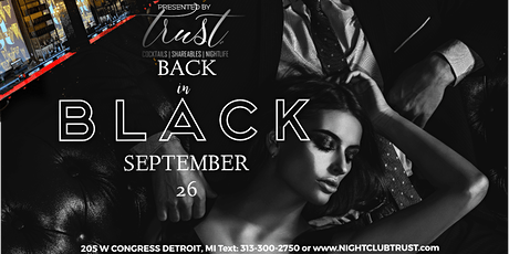 BACK IN BLACK 2020 - SkyFall Saturdays tickets