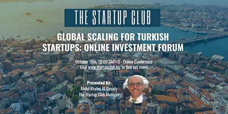 Global Scaling for Turkish Startups: Online Investment Forum tickets